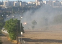 בעקבות שריפת ענק: בתים פונו בירושלים