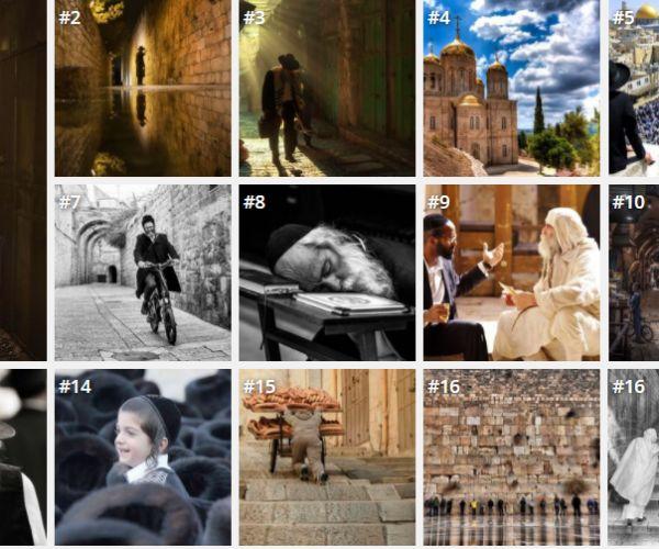 אמנות, תרבות 2.5 מיליון בחרו את התמונות הטובות ביותר של ירושלים