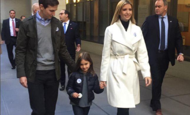איוונקה טראמפ בדרך לבית משפט, בגלל זוג נעליים?