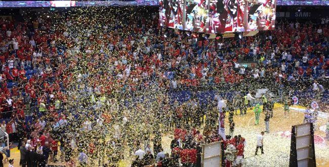 הפועל ירושלים היא אלופת המדינה בכדורסל