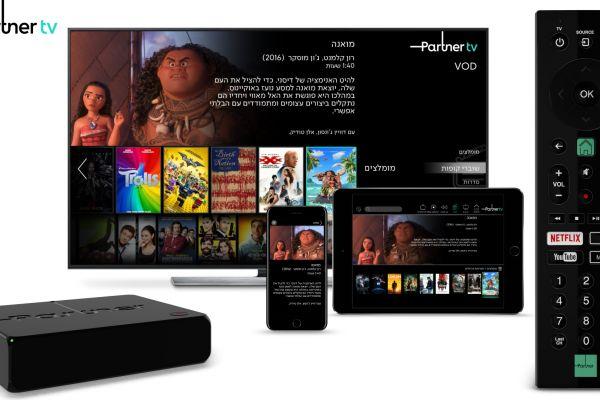 בתוך פחות מ-48 שעות נרשמו 5,000 לקוחות לפרטנר TV