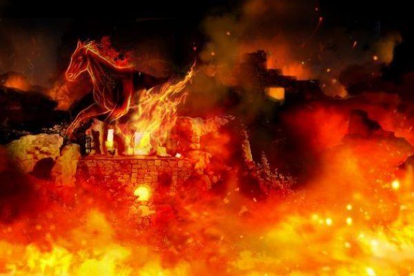 צפו: הצצה מרהיבה למיצג האור קולי החדש בעיר דוד