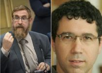 """""""שוב מזלזל בעם ישראל"""": עימות בין גליק לרב נבון"""
