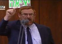 צפו: יהודה גליק מתפוצץ במליאת הכנסת