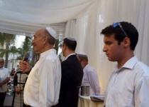 מרגש: הנדר של אולמרט שקויים במלואו