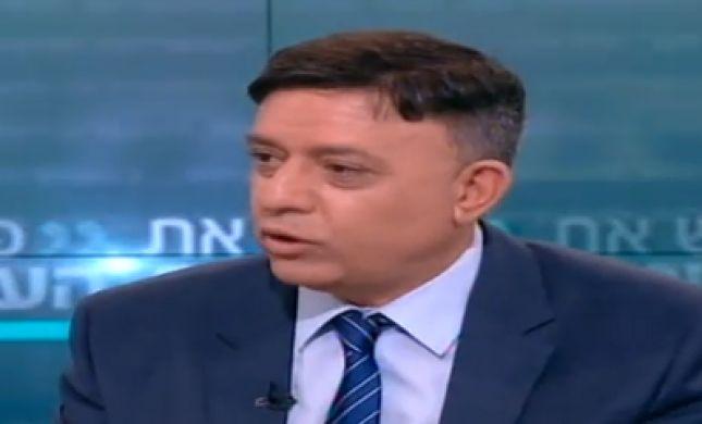צפו: גבאי שוב 'הותקל' בעימות בשידור חי