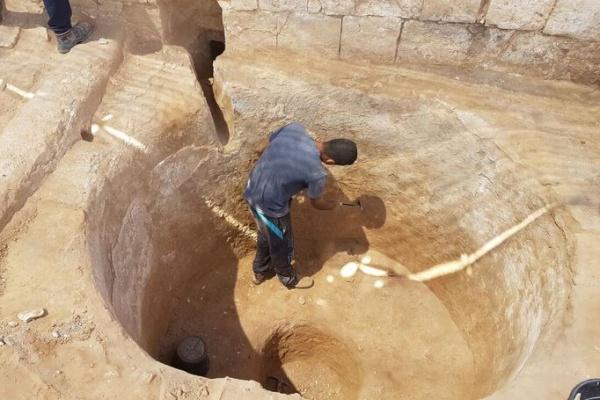 במקרה: נחשפה גת מרשימה לייצור יין בת כ-1600 שנה