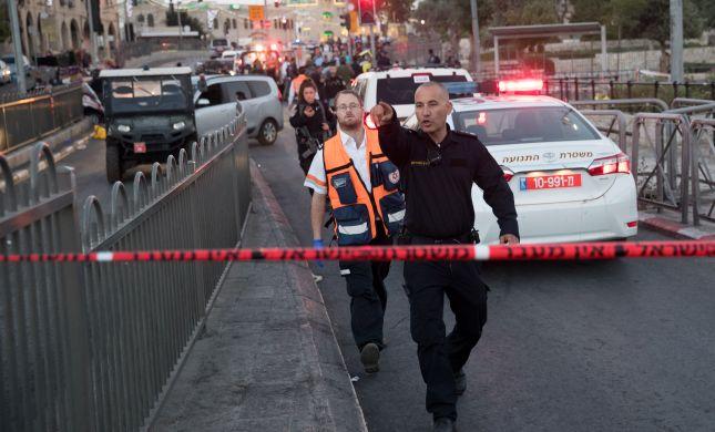 ניסיון פיגוע דקירה בירושלים, המחבל נתפס