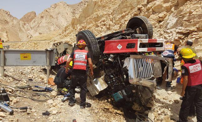 ההרוגים בתאונת המשאית: שני חיילים