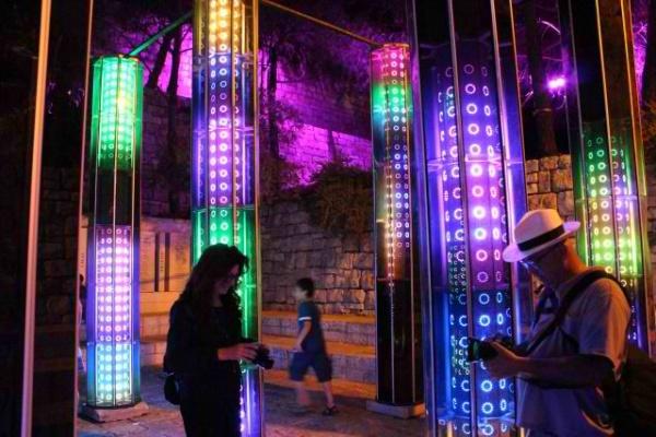 ירושלים הרוויחה מעל 10 מיליון שקל מפסטיבל האור