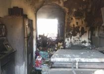אבני חפץ: שתי דירות נשרפו כליל; 9 נפגעו