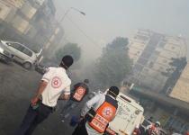 שריפה ביער ירושלים: תושבים פונו מבתיהם