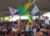 צפו: לוחמי ההסדר מתגייסים לקרבי בשירה וריקודים