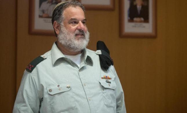 כבוד למגזר: קצין המילואים הראשי- סרוג ובוגר ישיבה