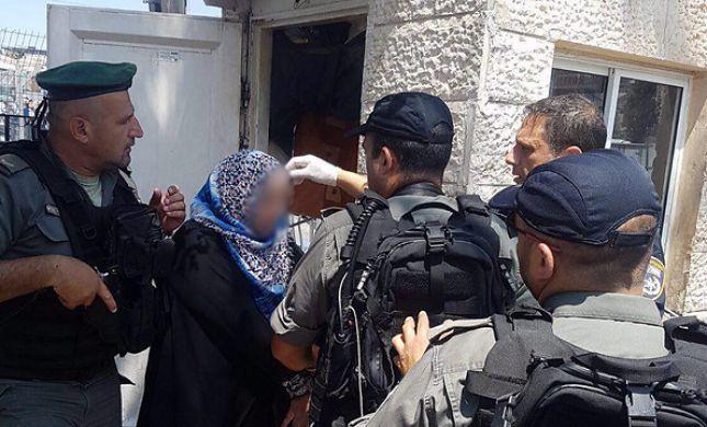 צפו: מחבלת ניסתה לרצוח חרדי בירושלים ונכשלה