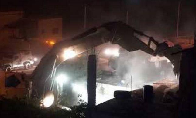 צפו: הריסת בית המחבל מהטבח בחלמיש