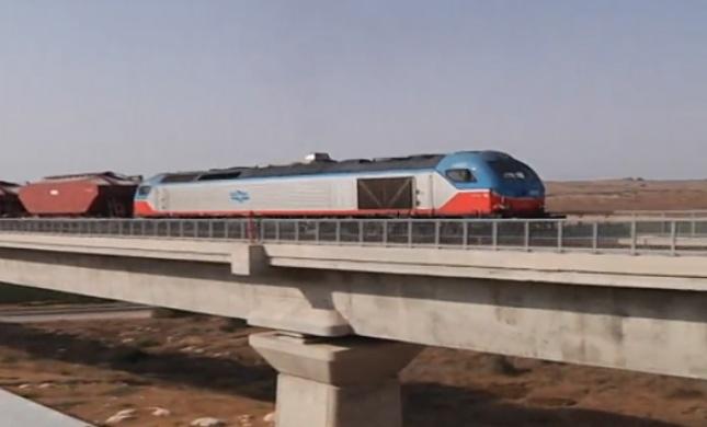 """צפו:נסיעת המבחן הראשונה של הרכבת מת""""א ל-י""""ם"""