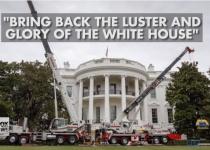 הרבה זהב: איך נראה הבית הלבן אחרי השיפוץ?