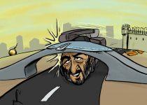 קריקטורה: ההשתלחות של דרעי וקריסת הגשר