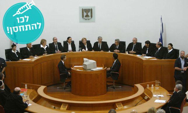 בשל הסגר: מערכת בתי המשפט תוגבל לשבועיים