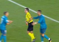 הלם בספרד ממה שרונאלדו עשה אחרי שהורחק. צפו