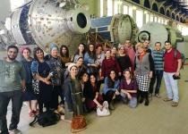 משלחת סטודנטים מהרצוג לסוכנות החלל ברוסיה