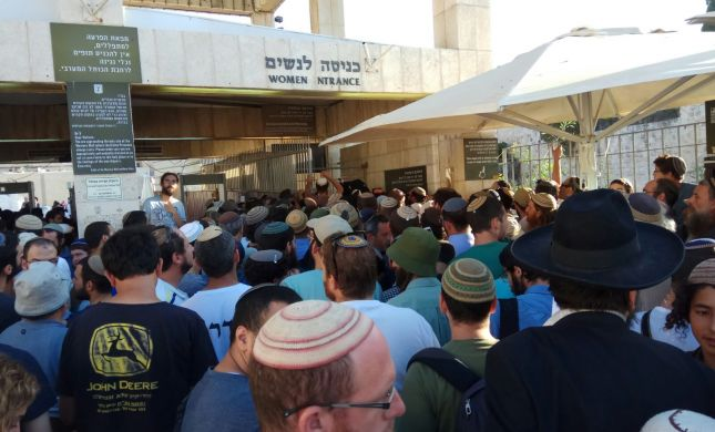 צפו: שיא במספר היהודים העולים להר הבית