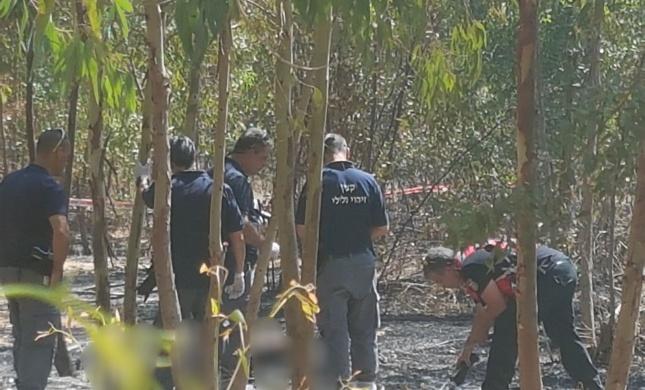 גופת אישה שרופה נמצאה ליד תל עדשים