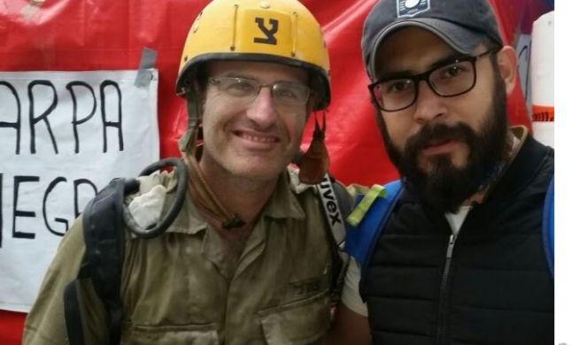 בין ההריסות: מפקד מנצח יהודה פגש את חיילו לשעבר