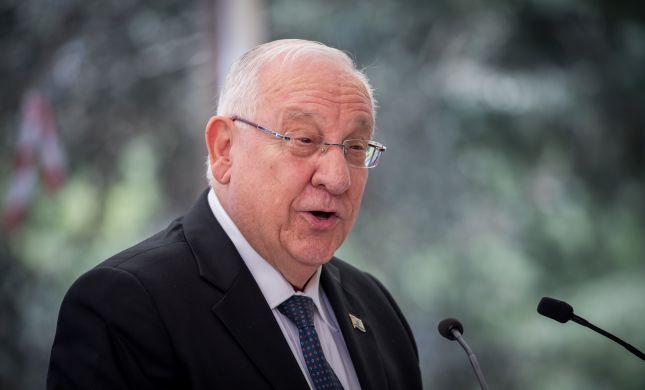 """על חשבון אזרחים; ריבלין: """"חמאס מפעיל בסיסי טרור בבתי חולים"""""""