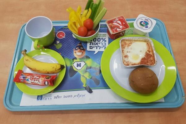 מהפכת המזון הבריא בהדסה: מנות בריאות במחלקות הילדים