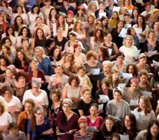 מוזיקה, תרבות צפו: 600 איש משלל מגזרים בביצוע מאחד לבבות