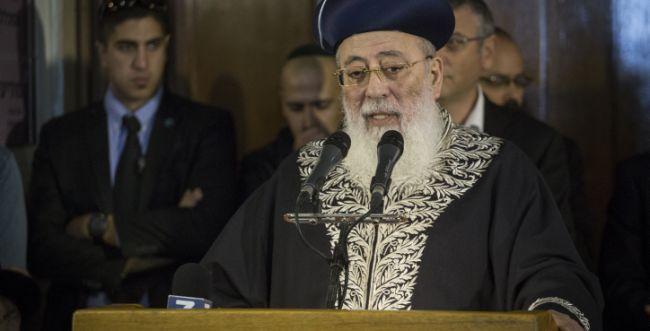 הרב שלמה עמאר: זו הסיבה לרעידות האדמה בארץ