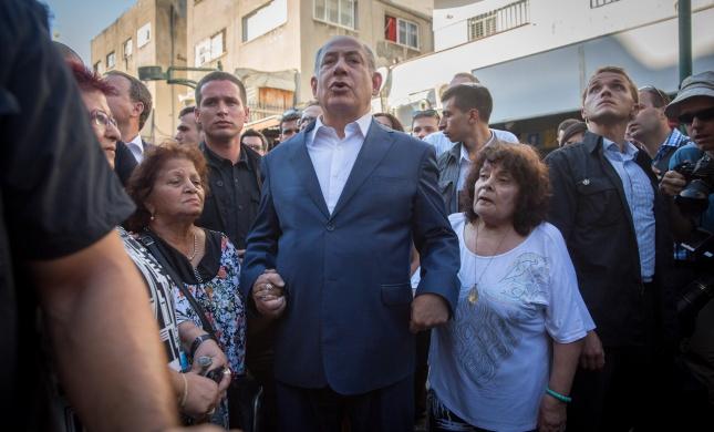 פעם שנייה השבוע: נתניהו סייר בחשאי בדרום תל אביב