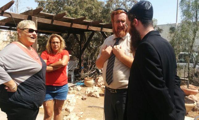 המהומות בערד: חבר הכנסת הגיע להשכין שלום