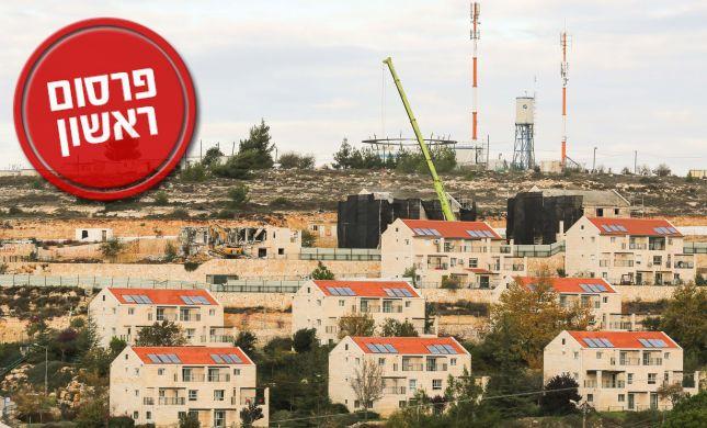 """בית אל תגיש בקשה לבניית 200 יח""""ד נוספות"""
