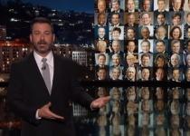 צפו: המנחה ג'ימי קימל לא מצליח לעצור את הדמעות