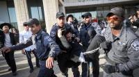 חדשות, חדשות בארץ, מבזקים הפגנות החרדים: חסימות כבישים והיאבקות בשוטרים