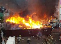 השריפה באומן- במתחם של הרבנית רונית ברש