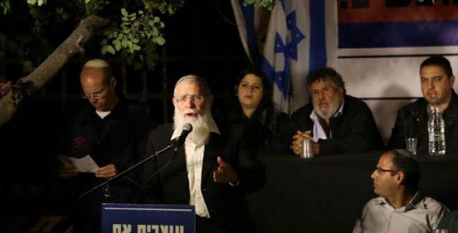"""הרב אליקים לבנון: """"קורא לגבאי ולפיד לתת כתף"""""""