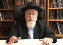 צפו: הרב דב ליאור בסקירה מהירה על הלכות חג הסוכות