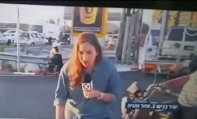 כתבת ערוץ 10 התעלפה בשידור חי. צפו