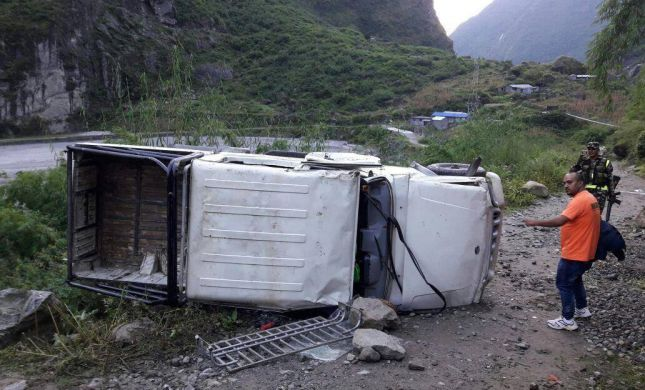 """המטיילים מהתאונה בנפאל משחזרים: """"צעקנו לעזרה"""""""