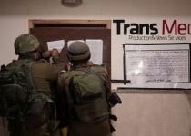 """עודדו טרור: צה""""ל פשט על 8 כלי תקשורת פלסטינים"""