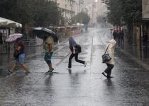 בכל העצמה: הגשמים גרמו להצפות והפסקות חשמל