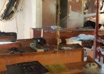 בית הכנסת בכפר גדעון עלה באש – ספרי התורה ניצלו