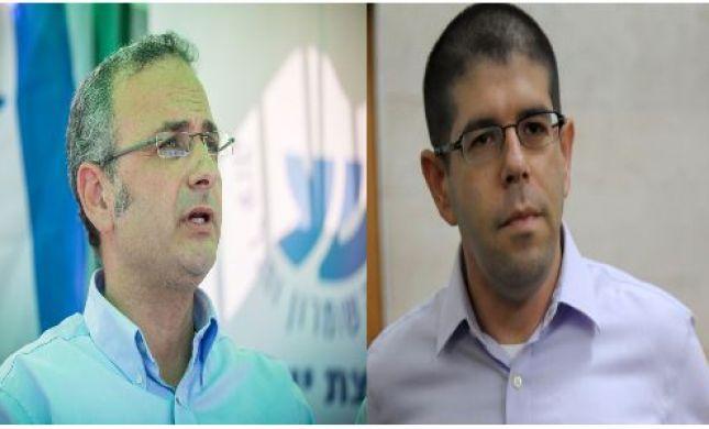 העימות בין פעיל השמאל לראש מועצת בית אל•האזינו