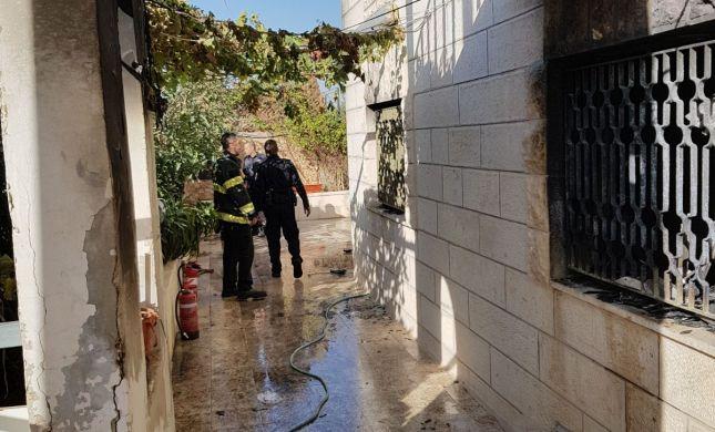 השוטר פרץ לבית הבוער והציל את שני הילדים