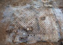 מרהיב: רצפת פסיפס נדירה נחשפה באשדוד
