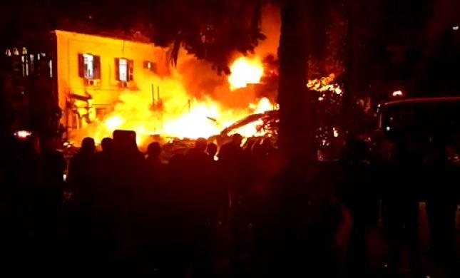 שלושה הרוגים בפיצוץ בחנות ביפו